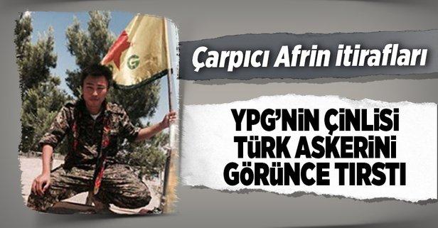 Ypgnin çinlisi Pes Etti Bomba Türk Askeri Ve Afrin Itirafı