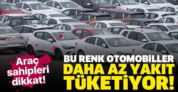 Araç sahipleri dikkat! Aracınızın rengi...