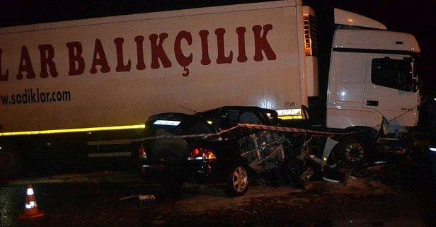 Uzman çavuş Erhan Adaşbay Trafik Kazasında Hayatını Kaybetti