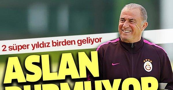 Galatasaray transfer bombalarını patlatıyor! 2 süper yıldız yolda...