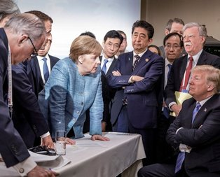 Trumptan Merkele şok hareket!