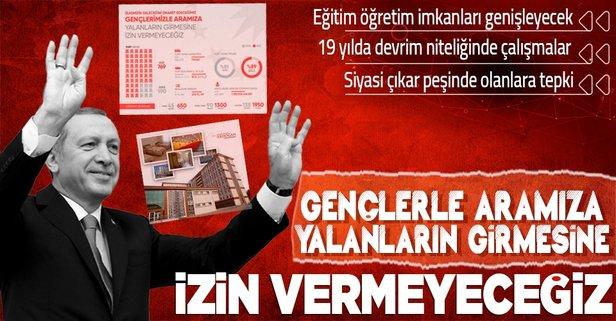 Başkan Erdoğan'dan dikkat çeken mesaj!