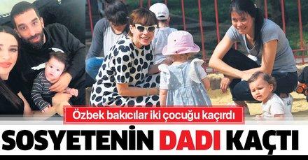 Özbek bakıcılar iki çocuğu kaçırdı sosyetenin tadı kaçtı