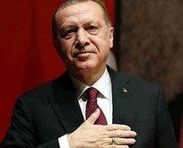 Başkan Erdoğan'dan bir ilk!
