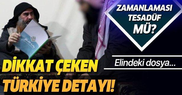 Bağdadi videosunda dikkat çeken Türkiye detayı!