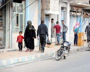 Görüntüler Tel Abyad'dan! Türkiye ile huzura kavuştular