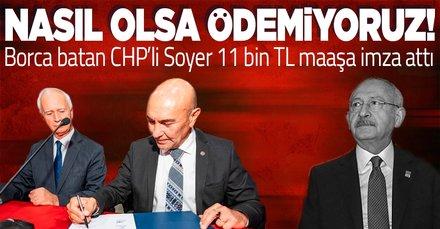 Borç batağındaki CHP'li İzmir Büyükşehir Belediyesi'nde metro çalışanlarının maaşı 11 bin liraya çıkarıldı