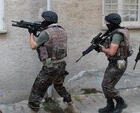 Eylem hazırlığındaki PKK'lılara operasyon