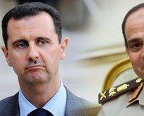 Darbeci Sisi'den katil Esad'a destek!