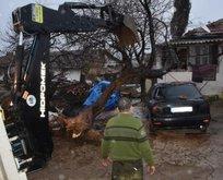 Şarköy'de fırtına hayatı olumsuz etkiledi!