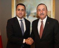 Bakan Çavuşoğlu, Di Maio ile görüştü