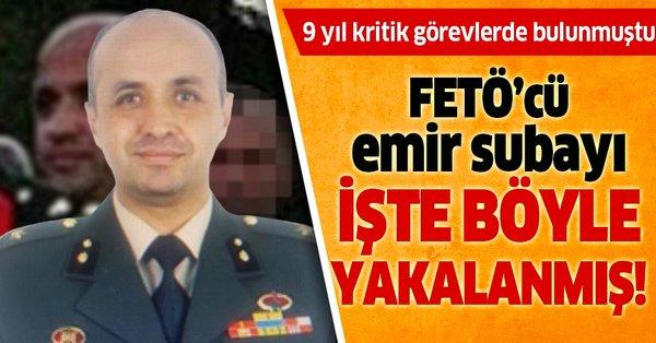 Ege Ordu Komutanı'nın FETÖ'cü emir subayı işte böyle yakalandı ...