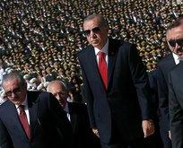 Başkan Erdoğan Anıtkabir'i ziyaret etti