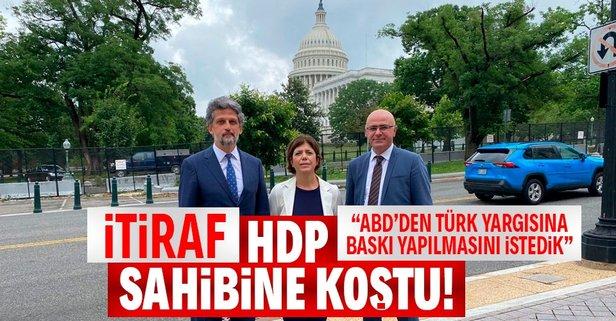 HDP sahibine koştu!