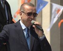 Erdoğan'ın seçim şarkısı 'Eroğlu Erdoğan' ilk kez gençlere dinletildi