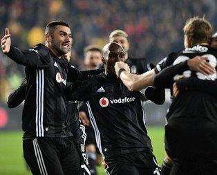 Beşiktaş seriyi 3 maça çıkardı