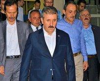 Mustafa Desticinin abisi kaza geçirdi