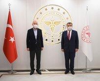 Bakan Koca, İçişleri Bakanı Soylu ile görüştü