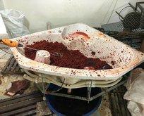 Mersin'de kaçak şarap ve sahte nargile tütünü operasyonu
