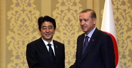 Şinzo Abe'den Erdoğan'a seçim zaferi tebriği