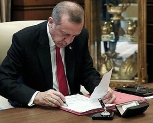 Başkan Erdoğandan rektör ataması