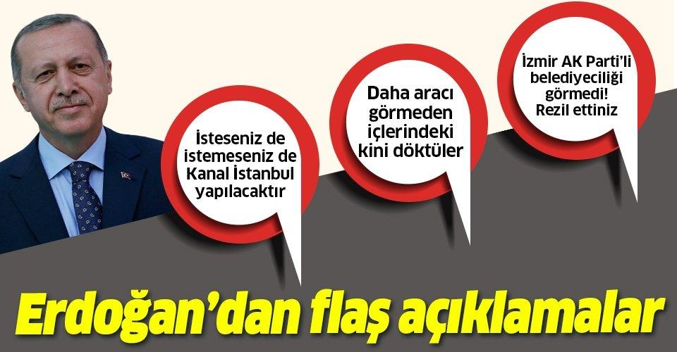 Başkan Erdoğan'dan Hereke Halı Dokuma Fabrikası'nda önemli açıklamalar