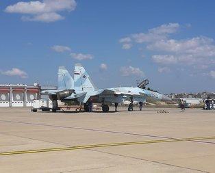 Rus savaş uçağı SU-35 İstanbul semalarında!