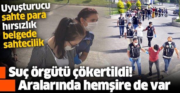 Karaman'da suç örgütüne operasyon