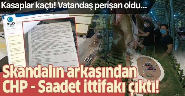 CHP - Saadet Partisi ittifakına kanıt!