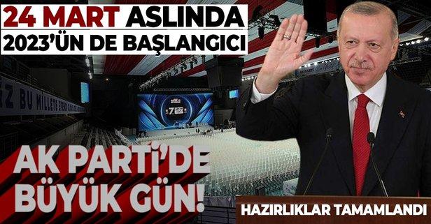 AK Parti'de büyük gün!