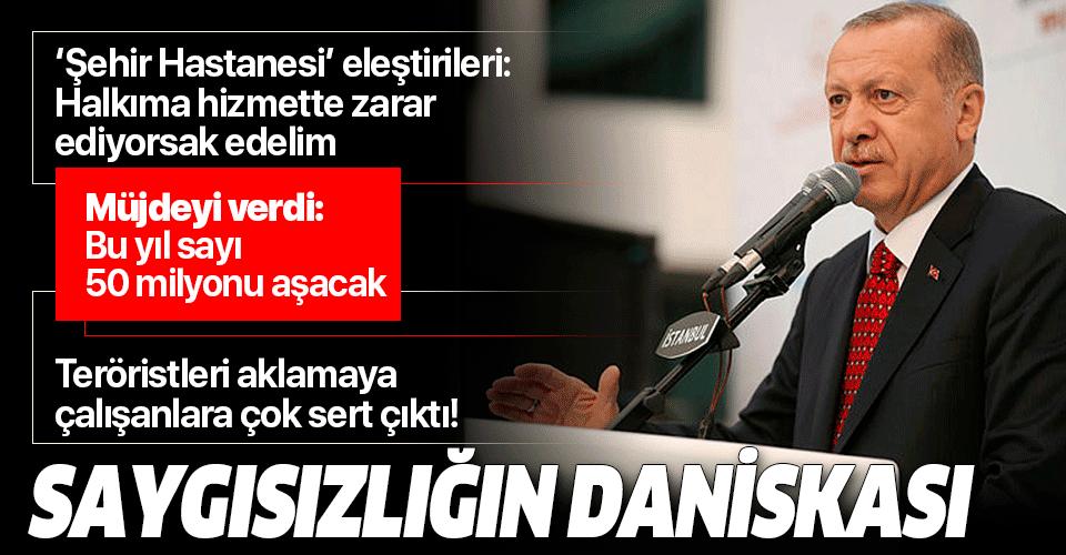 Son dakika: Başkan Erdoğan'dan İstanbul'daki toplu açılış töreninde önemli açıklamalar