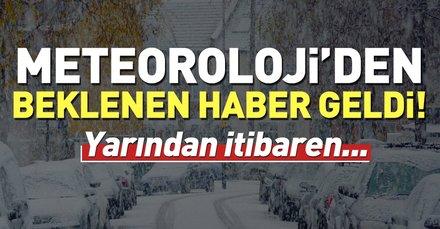 Meteorolojiden soğuk hava uyarısı! İstanbulda hava durumu nasıl olacak? İşte 13 Kasım hava durumu tahminleri