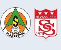 Alanyaspor-Sivasspor| CANLI