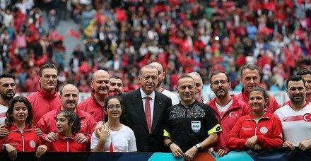 Başkan Recep Tayyip Erdoğan: Ayrımcılık yapan karşısında bizi bulur