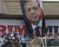 İsrail'i çılgına çeviren Erdoğan posteri