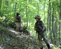 PKK'lı teröristlerin deposu bulundu