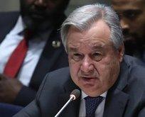 Antonio Guterres: Türkiye'nin kaygıları dikkate alınmalı