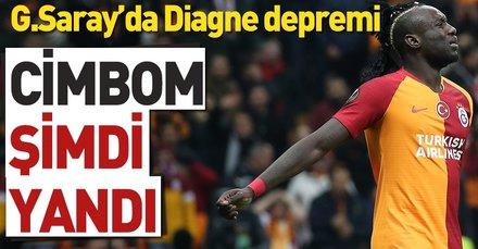 Galatasaray'da Diagne depremi!