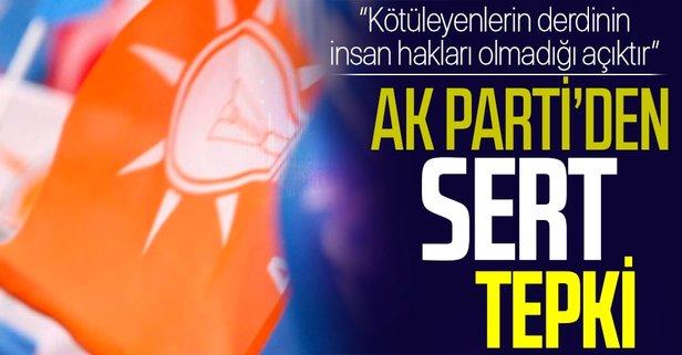 AK Parti'den İnsan Hakları Eylem Planı açıklaması