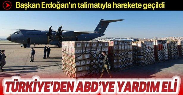 Türkiye'den ABD'ye yardım eli!
