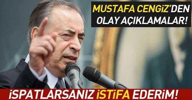 Mustafa Cengizden flaş açıklama!