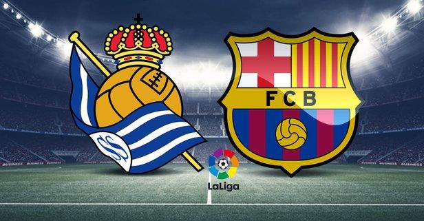 Real Sociedad-Barcelona canlı nasıl izlenir?
