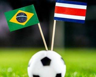 Brezilya - Kosta Rika maçı ne zaman? Hangi kanalda ve saat kaçta? (Dünya Kupası)