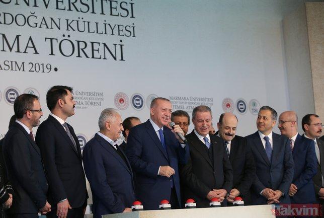 Marmara Üniversitesi Recep Tayyip Erdoğan Külliyesi'nin temeli, törenle atıldı