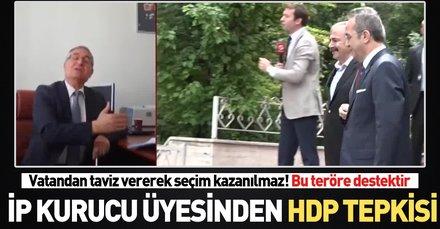 İP kurucu üyesi Özcan Yeniçeri'den çok sert HDP çıkışı!