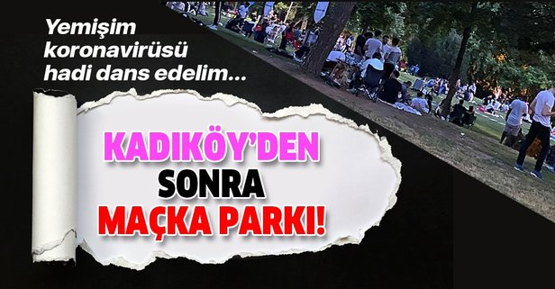Kadıköy'den sonra Maçka Parkı'nda da danslı eğlence