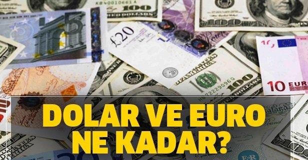 26 Mart dolar ve euro alış satış ne kadar oldu?