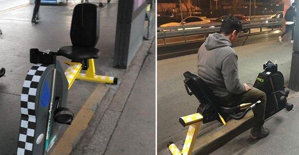 İstanbul'da bir ilk! Metrobüs duraklarına yerleştirildi