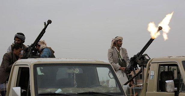 Suudi Arabistan'a saldırı! Kamp vuruldu