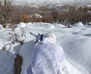 Afrin operasyonu devam ederken Jandarma dağlarda!